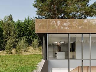 Dom w skale / House in the rock od Artur Adamczyk - Wizualizacje architektoniczne