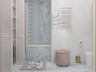 ЖК ХОРОШЕВСКИЙ Ванная комната в скандинавском стиле от mikhail_3dvisual Скандинавский