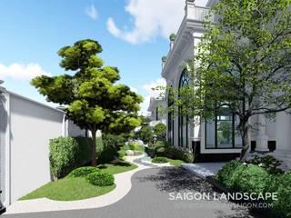 Thiết Kế Sân Vườn Biệt Thự Phong Cách Nhật Bản – Quận 7 bởi SGL LANDSCAPE ARCHITECTURE CO.,LTD Hiện đại