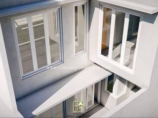 Rancang Reka Ruang Industrial style windows & doors Aluminium/Zinc White