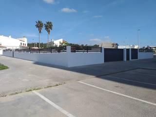 Mil Aço Unipessoal Lda Garden Fencing & walls Iron/Steel Grey