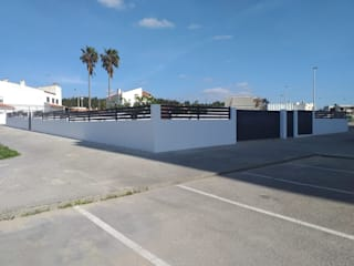 Mil Aço Unipessoal Lda 花園柵欄與牆 鐵/鋼 Grey