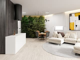 Salas de jantar modernas por Ale design Grzegorz Grzywacz Moderno