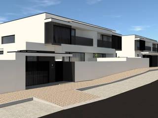 Beire Place Houses por Joana Pais Arquitecta