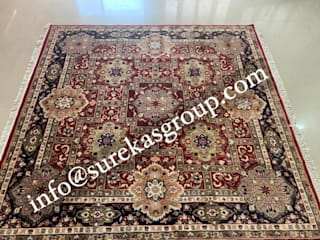 Best quality Custom hand-knotted persian rug in wool: classic  by Global Floor Furnishers,Classic