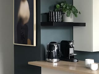 Rénovation d'un Appartement à Lyon - Agencement et Décoration Cuisine moderne par Studio Bérengère Durret Moderne