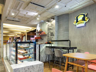 Cake Kiosk W33 Design Studio Shopping Centres Marble White