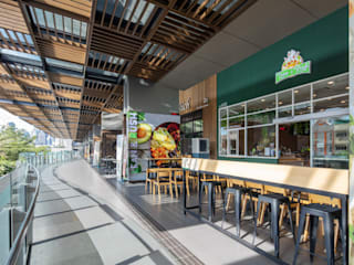 Lean & Rush W33 Design Studio Shopping Centres Wood effect