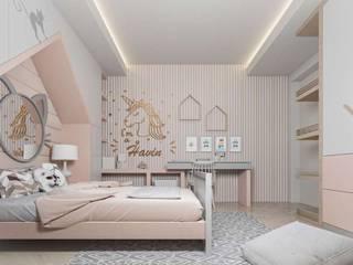 Dormitorios infantiles de estilo moderno de VERO CONCEPT MİMARLIK Moderno