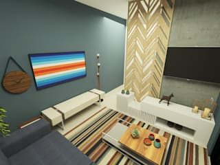 Parro Engenharia e Projetos Modern living room