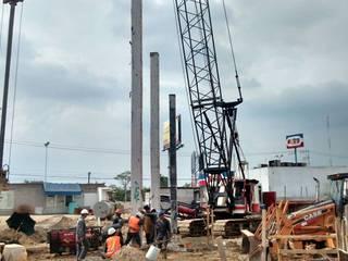 Construcción de edificio de oficinas corporativas de Grupo Constructor Mega, S. A. DE C. V.