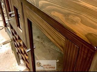 Mueble en pino Oregón nacional de Diseños Colombia Clásico