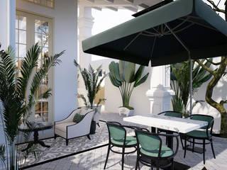 Thiết kế quán cafe Indochine Coffee bởi Công ty trang trí nội thất RIM Decor