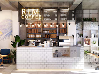 Thiết kế nội thất RIM COFFEE bởi Công ty trang trí nội thất RIM Decor