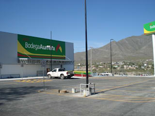 Bodegas Aurrera de Grupo Constructor Mega, S. A. DE C. V. Rústico