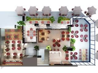 Thiết kế nội thất MD COFFEE bởi Công ty trang trí nội thất RIM Decor