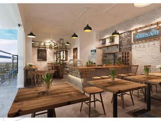 Thiết kế quán cafe ORLA'S COFFEE bởi Công ty trang trí nội thất RIM Decor