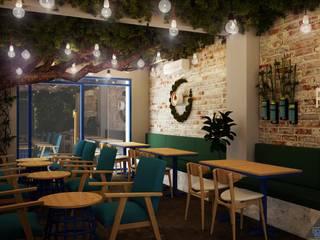 Thiết kế quán cafe RIM COFFEE bởi Công ty trang trí nội thất RIM Decor
