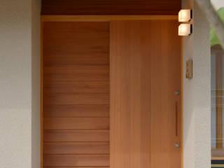 豊田市の旗竿地の家 の ジュウニミリ建築設計事務所 和風