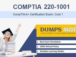 Comptia 220-1001 Practice exam questions dumps by Dumps Mate