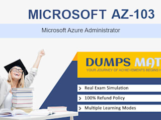 Valid AZ-103 Practice exam questions dumps by Dumps Mate