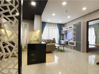 Trang trí nội thất căn hộ Xi Grand Court Apartment bởi Công ty trang trí nội thất RIM Decor Hiện đại