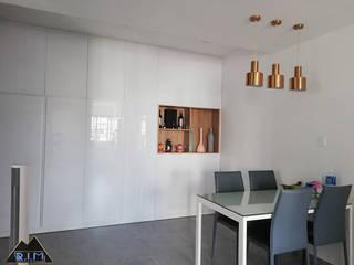 Trang trí nội thất căn hộ Nguyễn Đình Chính Apartment bởi Công ty trang trí nội thất RIM Decor Hiện đại