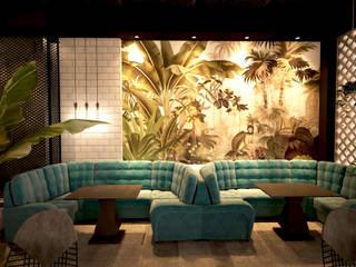 Thiết kế nội thất cafe Industrial Coffee: công nghiệp  by Công ty trang trí nội thất RIM Decor, Công nghiệp