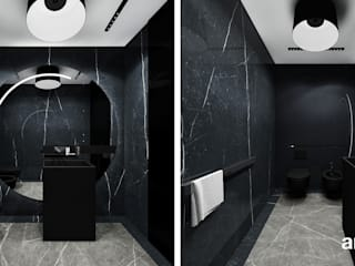 Moderne badkamers van ARTDESIGN architektura wnętrz Modern