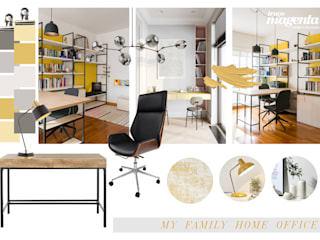 Modern Study Room and Home Office by Traço Magenta - Design de Interiores Modern
