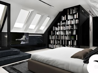 Moderne slaapkamers van ARTDESIGN architektura wnętrz Modern