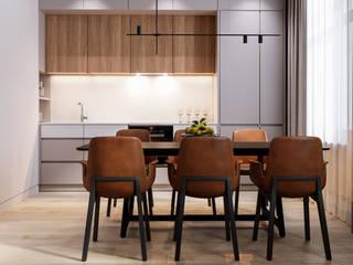 AMBER Кухня в стиле минимализм от do.diz studio Минимализм