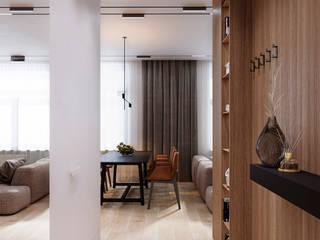 AMBER Коридор, прихожая и лестница в стиле минимализм от do.diz studio Минимализм