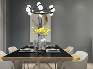 Apartamento masculino por Nkantus Interior Design Moderno