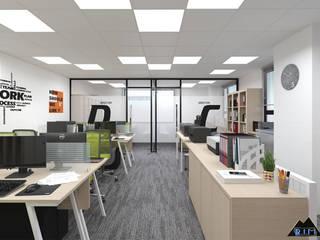 Thiết kế nội thất văn phòng Turkish Airlines Phòng học/văn phòng phong cách hiện đại bởi Công ty trang trí nội thất RIM Decor Hiện đại