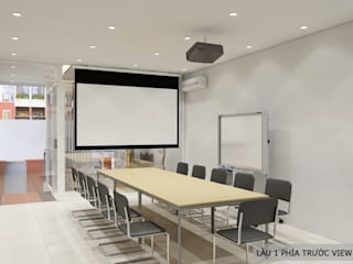 Thiết kế nội thất văn phòng PCS bởi Công ty trang trí nội thất RIM Decor