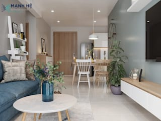 Cocinas de estilo moderno de Công ty TNHH Nội Thất Mạnh Hệ Moderno