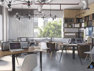 Nguyen Binh Khiem Office bởi Công ty trang trí nội thất RIM Decor