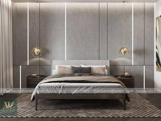 Thiết kế nội thất chung cư D'.Palais De Louis 150m2 cho anh Uynh- Chị Thủy bởi ATZ LUXURY Hiện đại