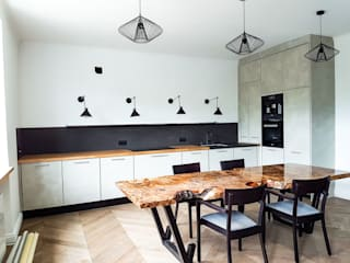 Kuchnia betonowa od formanufaktura.com Industrialny