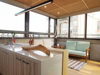 頂樓空間設計: 亞洲  by 醉心空間設計有限公司, 日式風、東方風