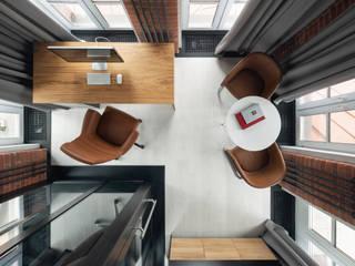 Офис в башне делового центра NEVKA Офисные помещения в стиле лофт от Art Gluck Лофт