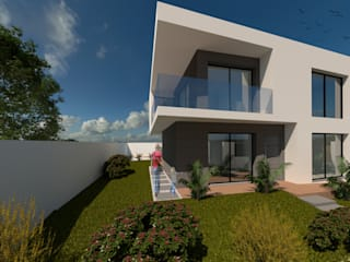 Casa JG- Cascais, Portugal GGArqui Casas modernas