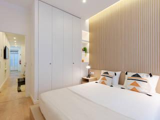 Apartamento Principe Real- Lisboa, Portugal GGArqui Quartos pequenos