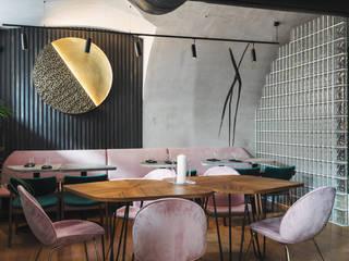 Ресторан ROBATA от Art Gluck Эклектичный