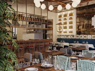 Ресторан FROMAGE от Art Gluck Эклектичный