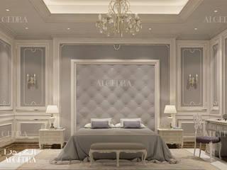 Abu Dhabi'de modern yatak odası tasarımı Klasik Yatak Odası Algedra Interior Design Klasik