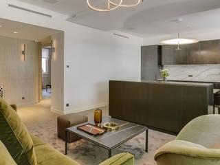 Appartement privé Paris Salon moderne par Agence Florence Rigon Moderne