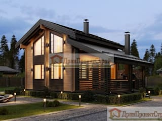 ПСК Древпроектстрой Wooden houses Wood Wood effect