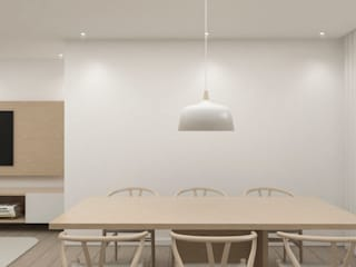 Comedores de estilo escandinavo de Salomé Ventura Arquitecta Escandinavo